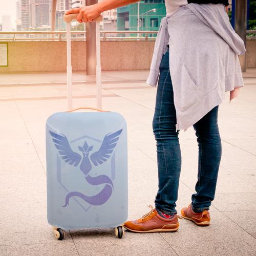 Чехол для чемодана 3D  Фото 04, Pokemon Go Blue Team