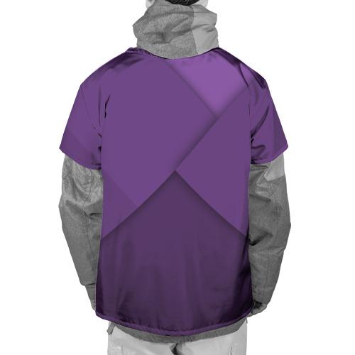 Накидка на куртку 3D  Фото 02, Мне фиолетово!