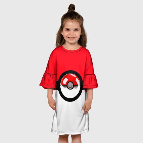 Детское платье 3D  Фото 01, Покеболл