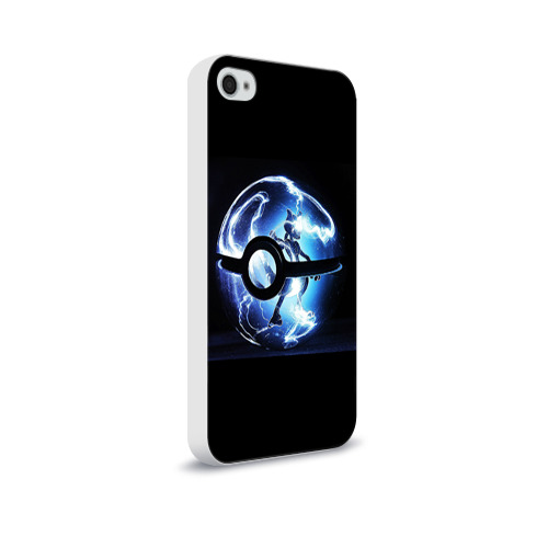Чехол для Apple iPhone 4/4S soft-touch  Фото 02, Покеболл