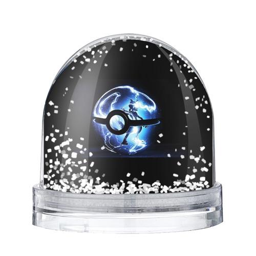 Водяной шар со снегом Покеболл