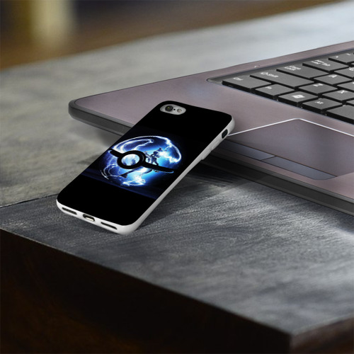 Чехол для Apple iPhone 8 силиконовый глянцевый  Фото 03, Покеболл