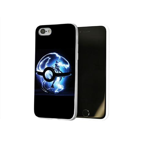Чехол для Apple iPhone 8 силиконовый глянцевый  Фото 02, Покеболл