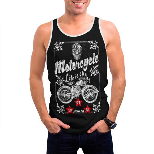 Мужская майка 3D  Фото 03, Moto t-shirt 2