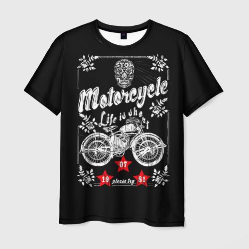 Мужская футболка 3D Moto t-shirt 2