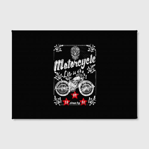 Холст прямоугольный  Фото 02, Moto t-shirt 2
