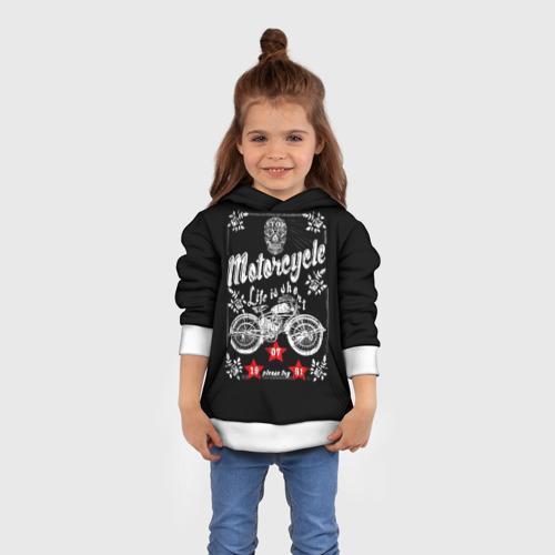 Детская толстовка 3D  Фото 01, Moto t-shirt 2