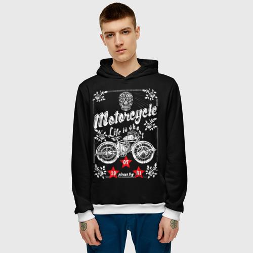 Мужская толстовка 3D  Фото 03, Moto t-shirt 2