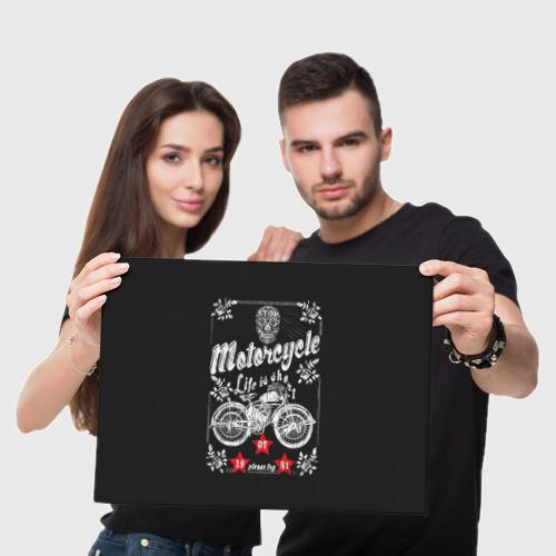 Холст прямоугольный  Фото 05, Moto t-shirt 2