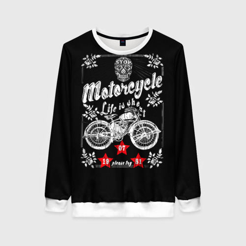 Женский свитшот 3D Moto t-shirt 2