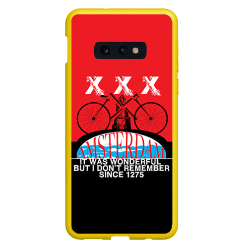 Чехол для Samsung S10E Amsterdam t-shirt Фото 01