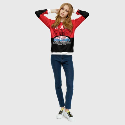 Женский свитшот 3D Amsterdam t-shirt