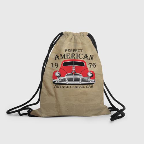 Рюкзак-мешок 3D American retro auto Фото 01