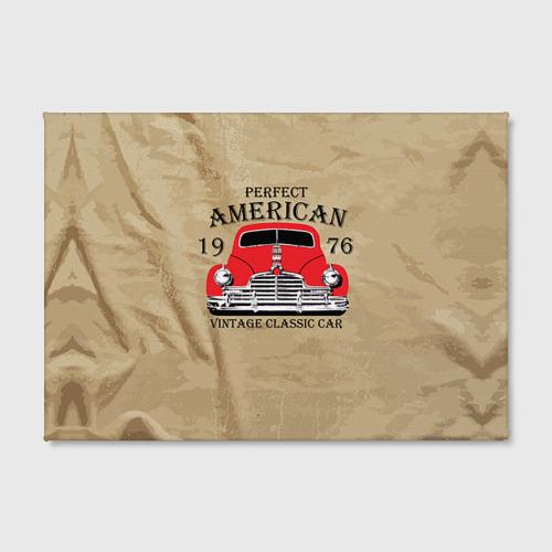 Холст прямоугольный  Фото 02, American retro auto
