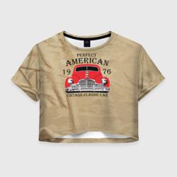 American retro auto