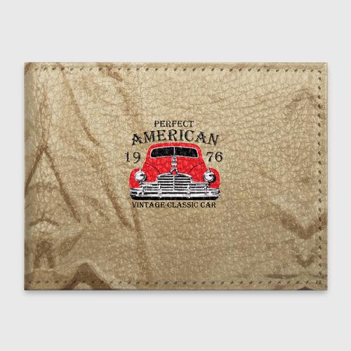 Обложка для студенческого билета American retro auto Фото 01