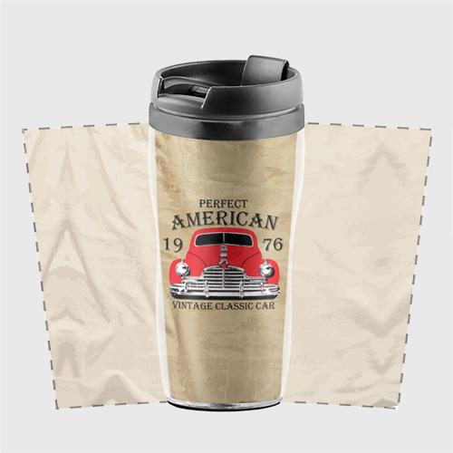 Термокружка-непроливайка American retro auto Фото 01