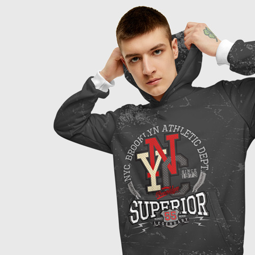 Мужская толстовка 3D  Фото 01, Team t-shirt 16