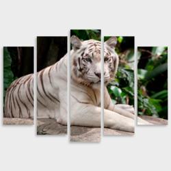 Модульная картина М20Белый тигр