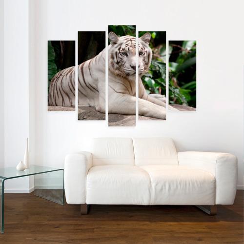 Модульная картина М20  Фото 07, Белый тигр