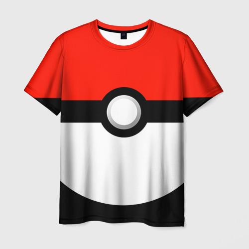 Мужская футболка 3D Тренер покемонов