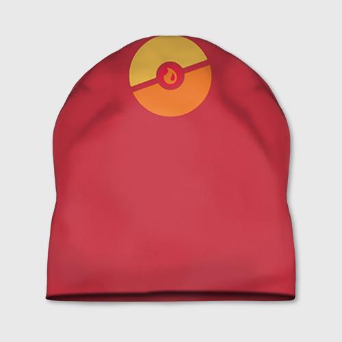 Шапка 3D Pokeball