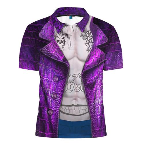 Мужская рубашка поло 3D Новый костюм Джокера