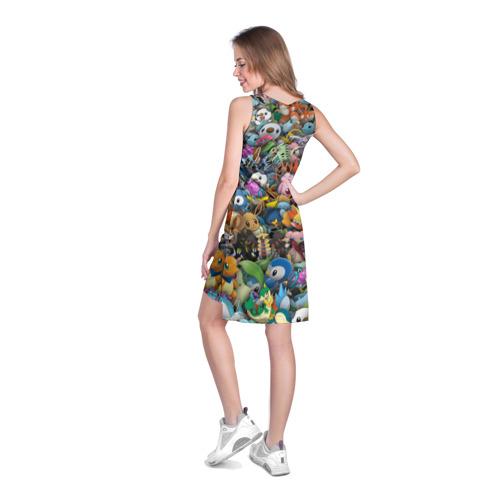 Платье-майка 3D  Фото 04, Покемоны. Стикербомбинг