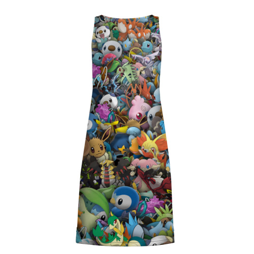 Платье-майка 3D  Фото 02, Покемоны. Стикербомбинг