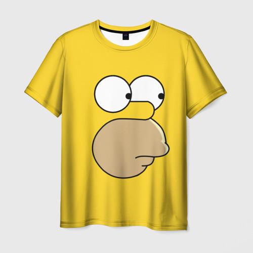 Мужская футболка 3D  Фото 01, Гомер Симпсон