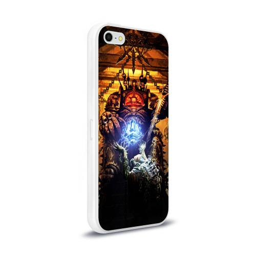Чехол для Apple iPhone 5/5S силиконовый глянцевый Black Legion Фото 01