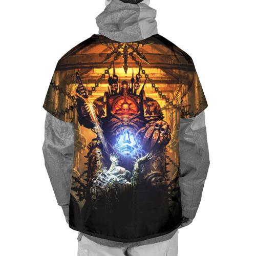 Накидка на куртку 3D  Фото 02, Black Legion