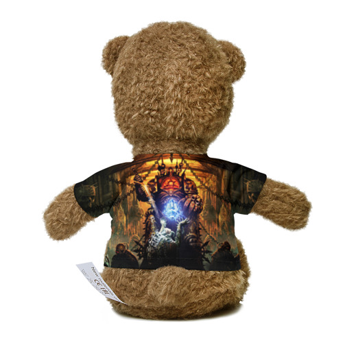 Миша в футболке 3D Black Legion Фото 01
