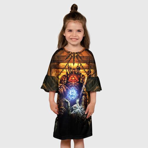 Детское платье 3D Black Legion Фото 01