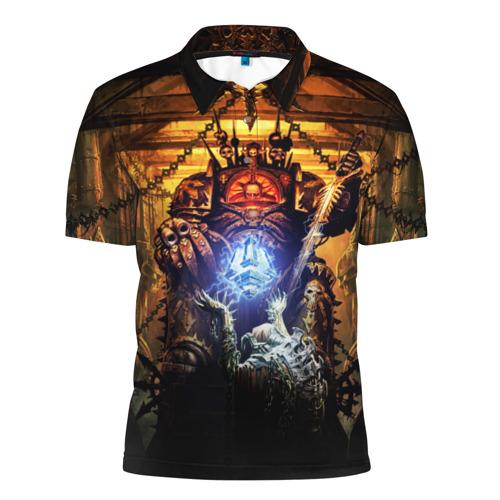 Мужская рубашка поло 3D Black Legion Фото 01