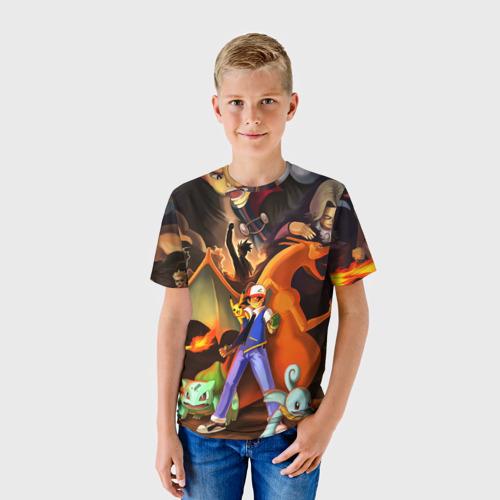 Детская футболка 3D  Фото 01, Ash
