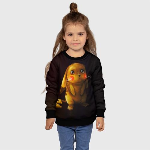 Детский свитшот 3D Пика-Пика? Фото 01