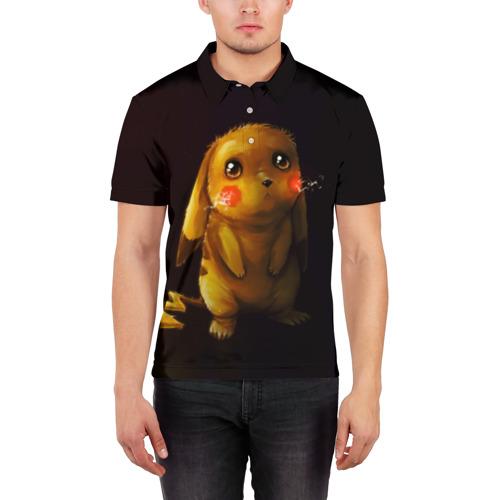 Мужская рубашка поло 3D  Фото 03, Пика-Пика?