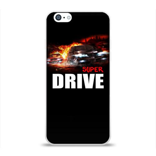 Чехол для Apple iPhone 6 силиконовый глянцевый  Фото 01, Super drive