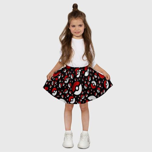 Детская юбка-солнце 3D  Фото 03, Покеболл