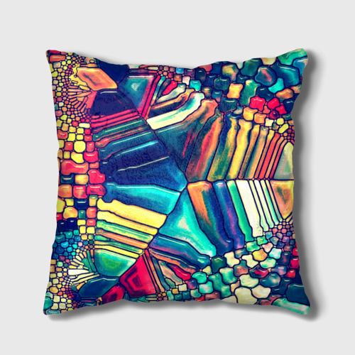Подушка 3D Block mosaic Фото 01