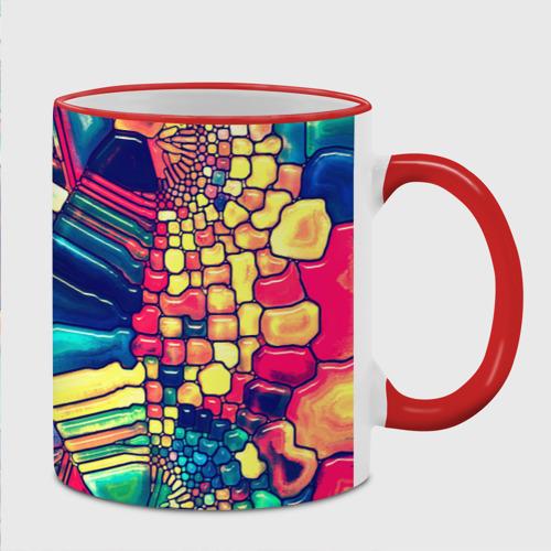 Кружка с полной запечаткой Block mosaic Фото 01