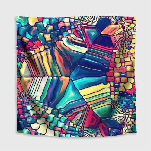 Скатерть 3D Block mosaic Фото 01