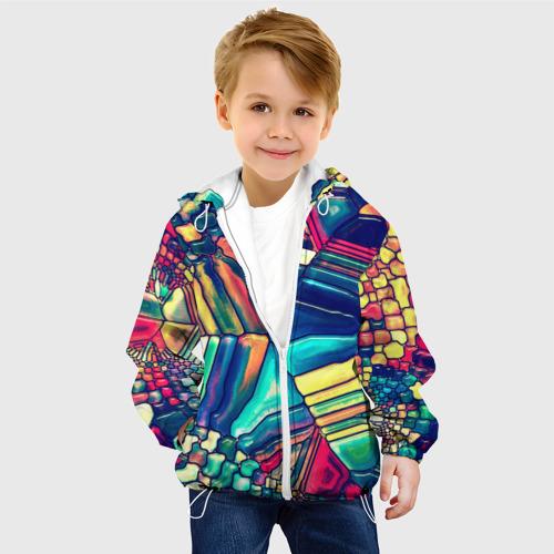Детская куртка 3D Block mosaic Фото 01