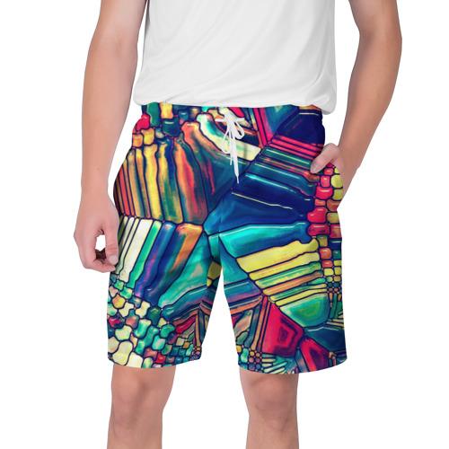 Мужские шорты 3D  Фото 01, Block mosaic