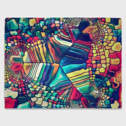 Плед 3D Block mosaic Фото 01