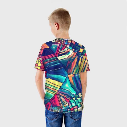 Детская футболка 3D Block mosaic Фото 01