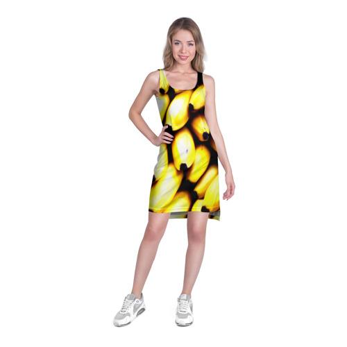 Платье-майка 3D  Фото 03, Бананы