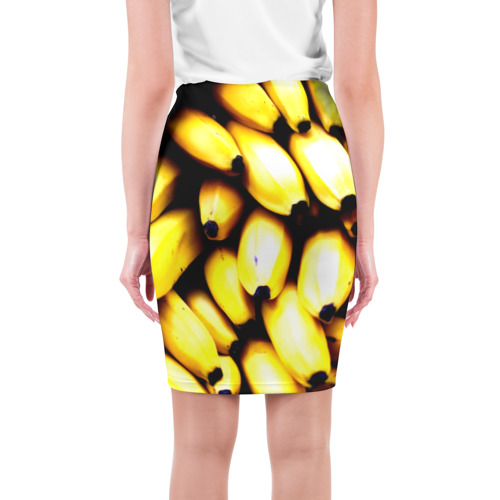 Юбка 3D  Фото 02, Бананы