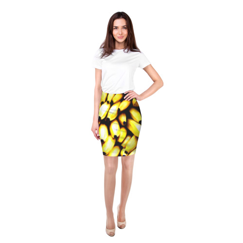 Юбка 3D  Фото 03, Бананы